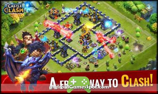 Castle Clash: Brave Squads Apk MOD Data Download